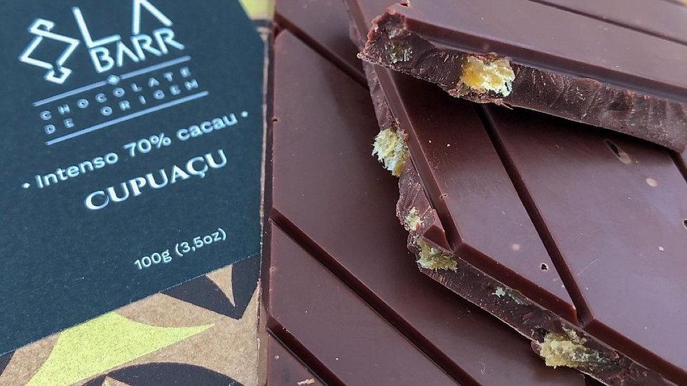 Labarr - Chocolate 70% Cacau com Cupuaçu 100g