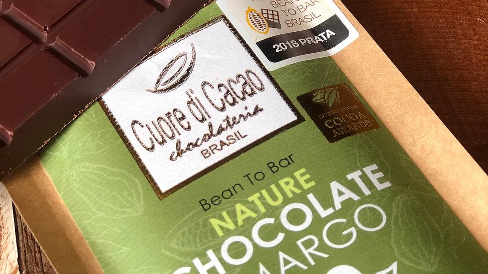 Cuore di Cacao - Chocolate 70% Cacau Nature 50g