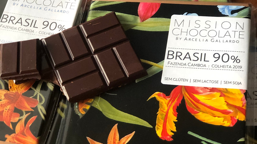 Mission Chocolate - Brasil 90% Cacau 60g