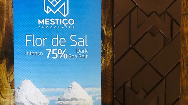 Mestiço - Chocolate com Flor de Sal 75% Cacau 50g