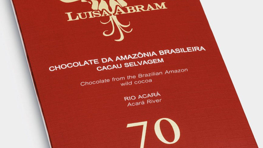 Luisa Abram Barra de Chocolate 70% Rio Acará 80g