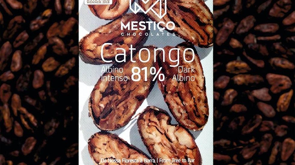 Mestiço - Chocolate Catongo 81% Cacau 50g