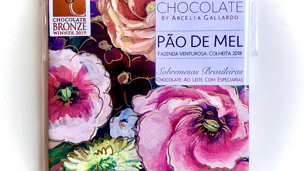 Mission Chocolate - Pão de Mel - Sobremesas Brasileiras  60g