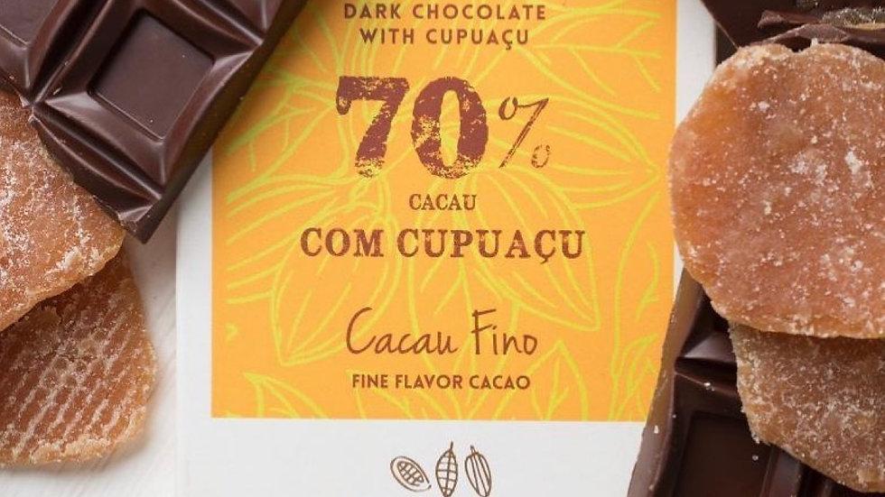 Gallette - Chocolate 70% Cacau com Cupuaçu 100g