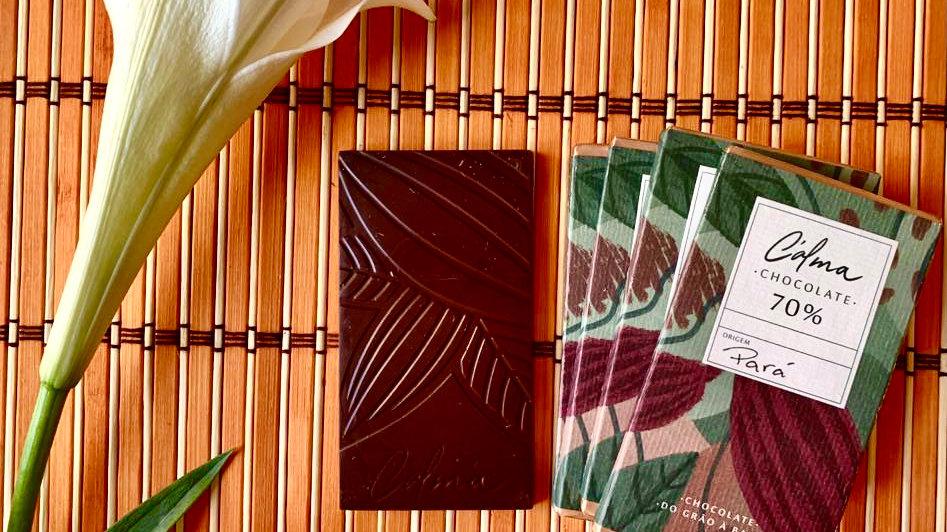 C'alma - Chocolate com 70% de Cacau  60g