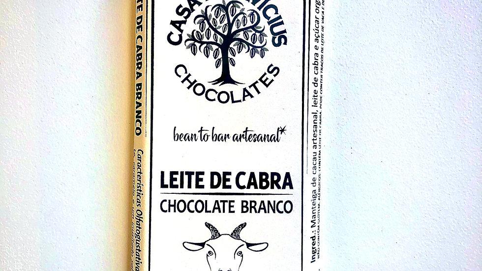 Casa Lasevicius Chocolate Branco ao Leite de Cabra 40g