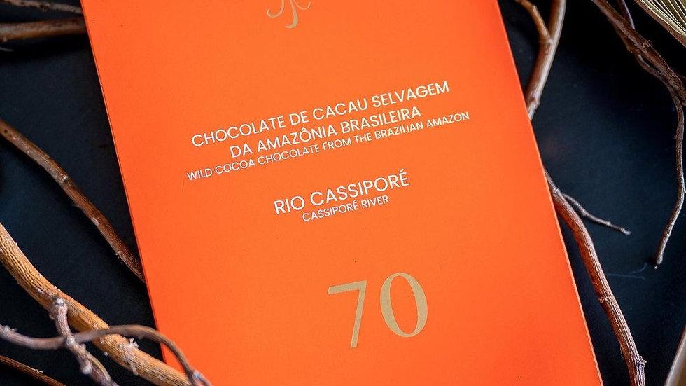 Luisa Abram - Chocolate da Amazônia - Rio Cassiporé 70%  80g