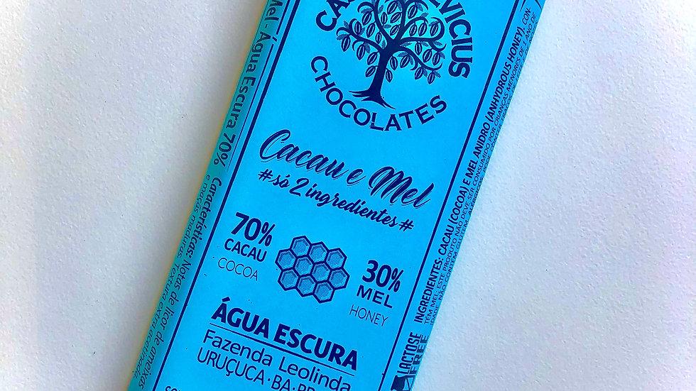 Casa Lasevicius Chocolate 70% Cacau & Mel 40g
