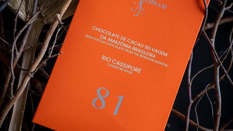 Luisa Abram - Chocolate da Amazônia - Rio Cassiporé 81%  80g