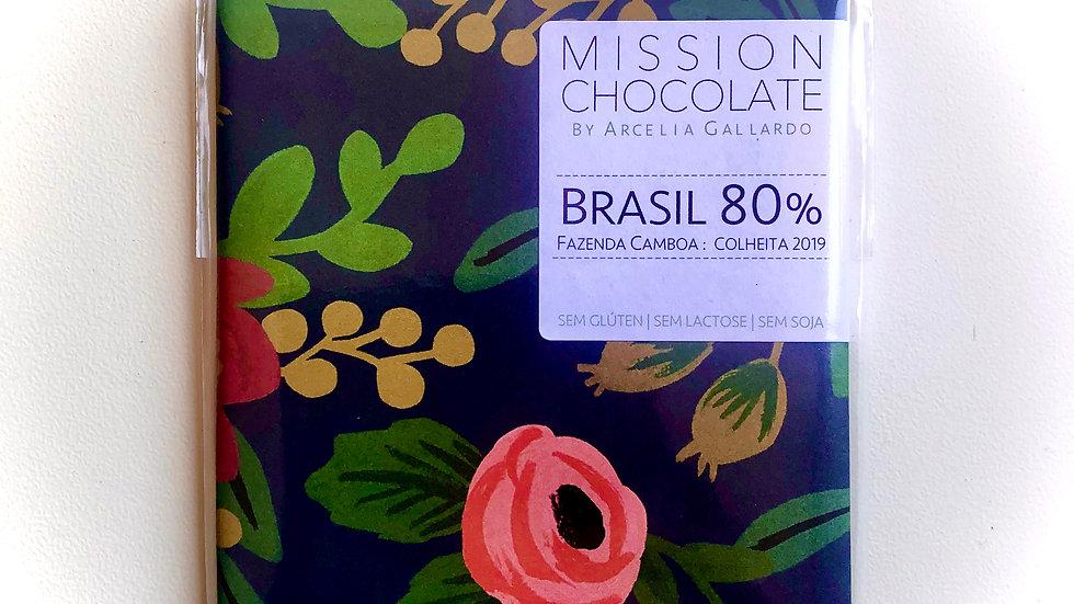 Mission Chocolate - Brasil 80% Cacau 60g