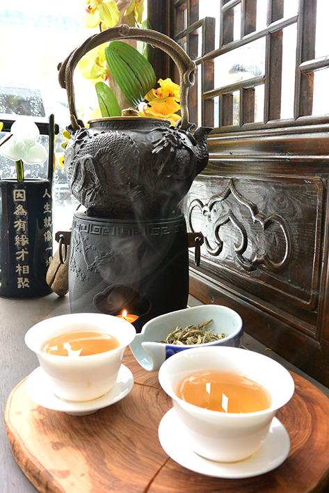 Teiere en fonte