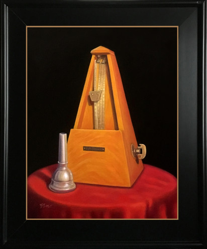 """Time to Practic - 11"""" x 14"""" Oil Painting"""