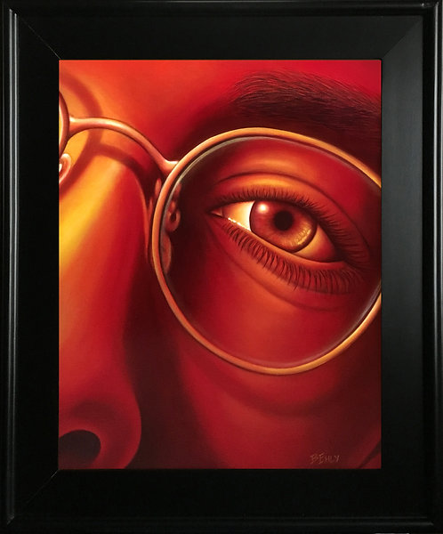 Eye-catching - Original Oil Painting, Framed