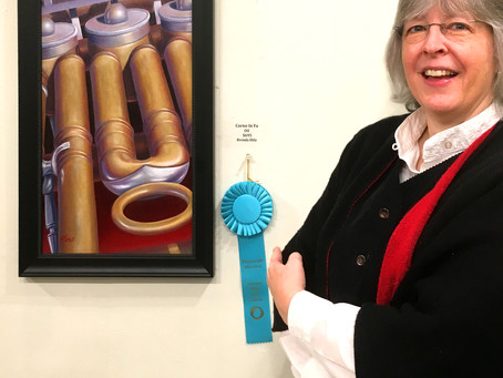 Honorably Mentioned at Tannery Row Exhibition!