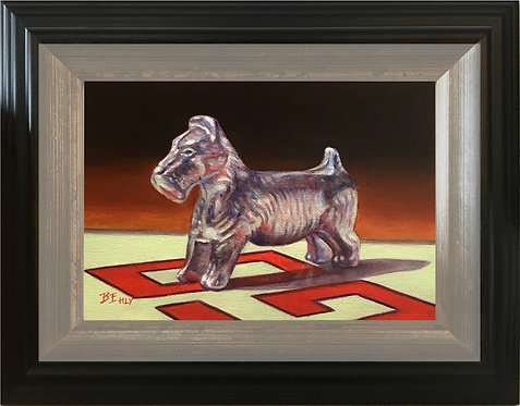 Token #2 - Original Oil Painting, Framed