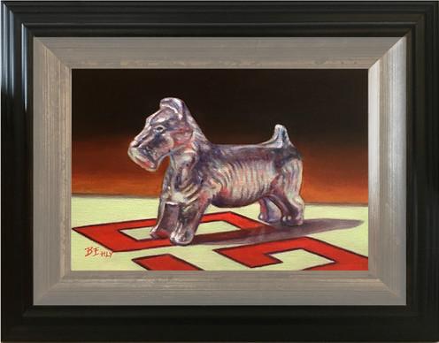 """Token #2 - 5"""" x 7"""" Oil Painting"""