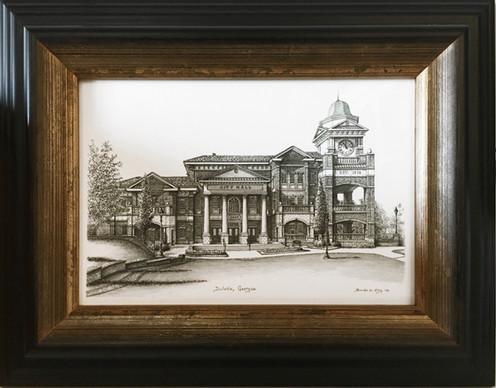 "Duluth City Hall - 5"" x 7"" Print"
