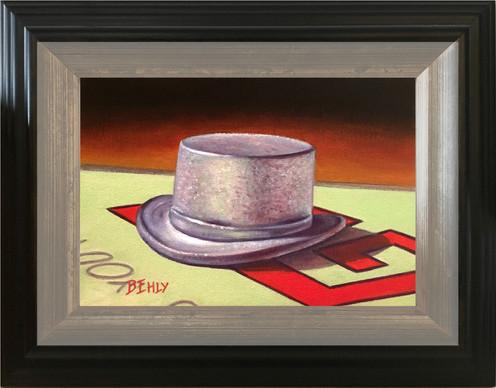 """Token #3 - 5"""" x 7"""" Oil Painting"""