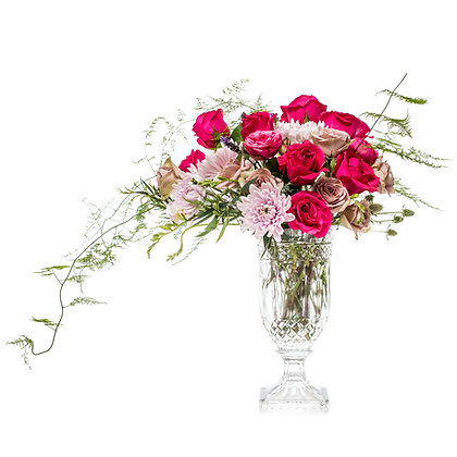 Crystal Pink and Roses