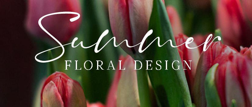 Summer floral design (10:30 a 12:30 hrs.)
