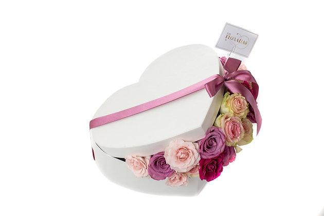 Flower Hearts box