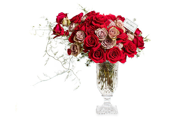 Crystal Roses and Roses