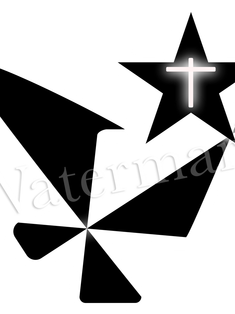 Abstract white cross.png