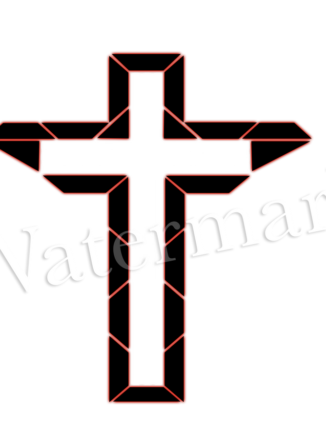 White cross red shield.png