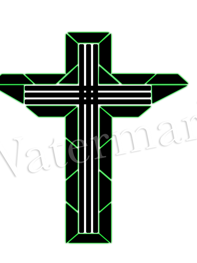 Green shield cross.png