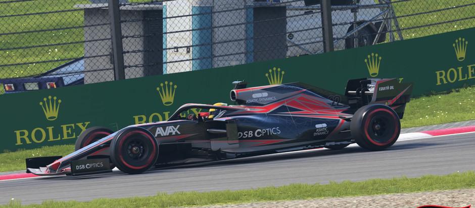 FRM - FORMULARACINGMASTERS F1 2020 ROUND 11: Austria - Centrifuga