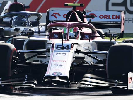 Enosia Gaming F1 Race 3 Italy - A casa nostra