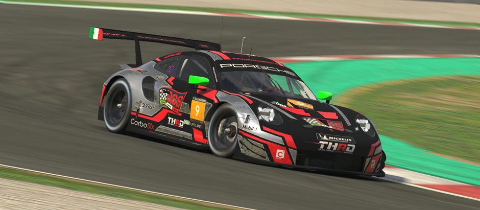 e-Racing Series European Endurance Championship Round 1 Barcellona - Gara bruciata