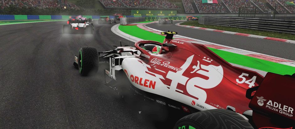Enosia Gaming F1 Race 2 Hungary - Safety Chaos