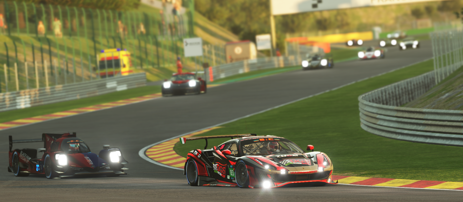 Virtual Endurance Championship 8 hours of Spa-Francorchamps - The underdogs