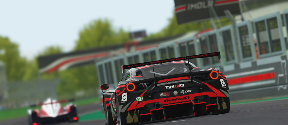 Virtual Endurance Championship 6 hours of Imola - Joy and pain