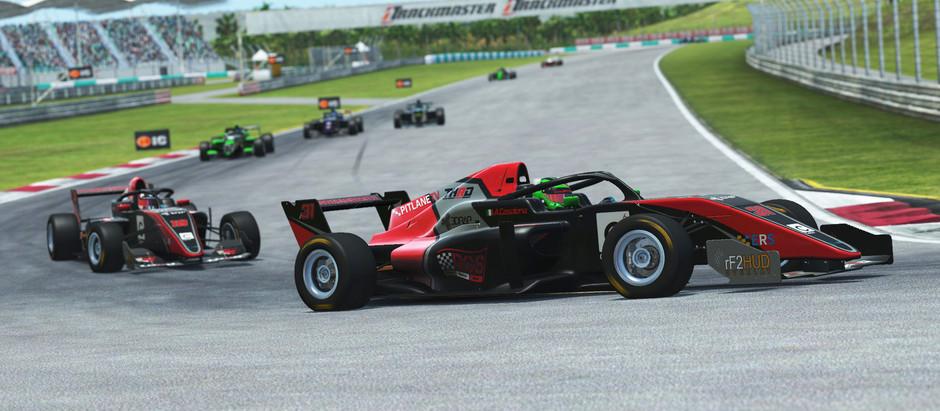 e-Racing Series Formula Tatuus Round 7 - Emili keeps the title hopes alive
