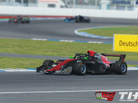 e-Racing Series Formula Tatuus Round 2 - Half disaster