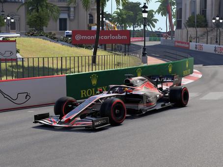 FRM - FORMULARACINGMASTERS F1 2020 ROUND 7: Monaco - Via lo smoking, giù la visiera