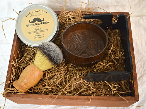 Shaving Set (Brush, Bowl, Brush Stand, Soap)