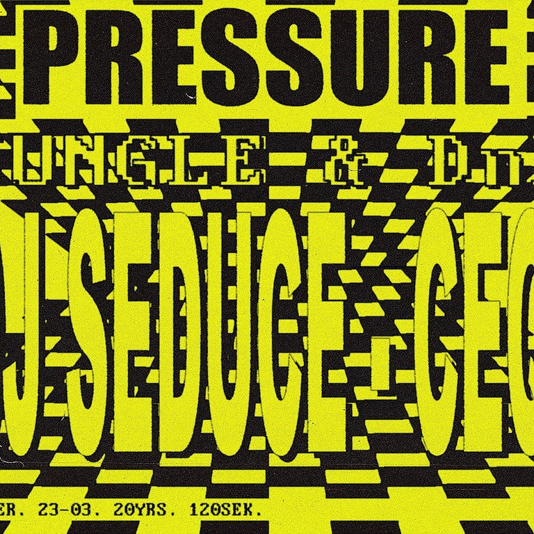 CLUB: PRESSURE - Jungle & DnB!
