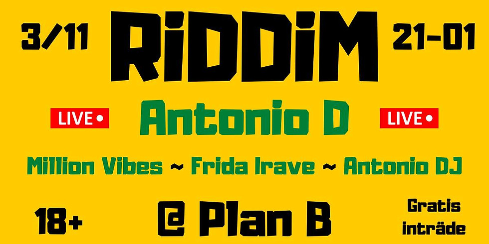 CLUB: RiDDiM / Antonio D