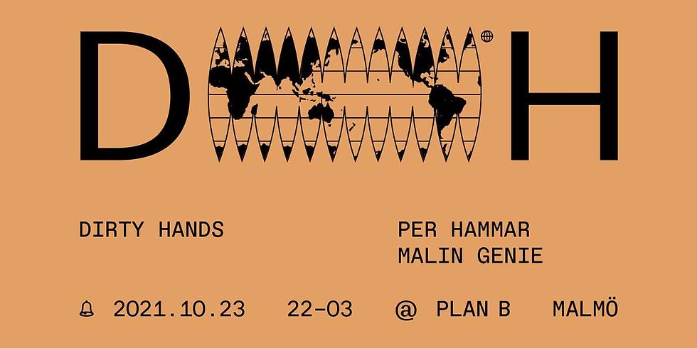 CLUB: Dirty Hands / Malin Genie & Per Hammar