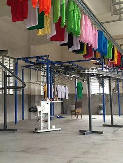 Конвейер для одежды, транспортёр для химчистки, химчистка одежда, химчистка комплектовка заказа, химчистка оборудование, химчистка конвейер, химчистка транспортёр