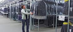 конвейер для хранения одежды