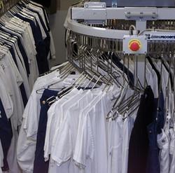 Конвейер для одежды