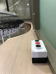кнопки управления конвейером для одежды, транспортёр для химчистки, конвейер для химчистки, автоматический гардероб, механический гардероб, управление автоматическим гардеробом