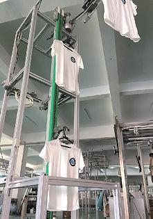 вертикальный конвейер для одежды, вертикальный транспортёр для одежды, вертикальный гардероб, вертикальный транспортёр