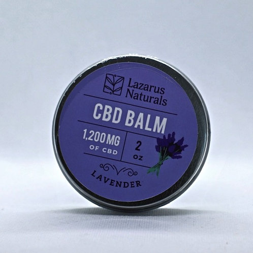 CBD Balm Pain Rub; Lavender
