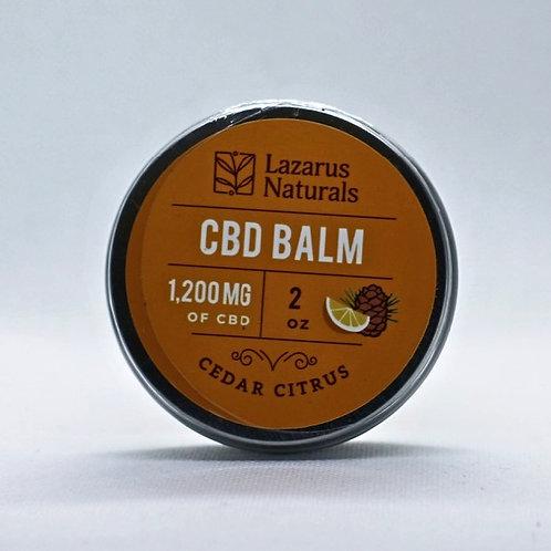 CBD Balm Pain Rub; Cedar Citrus