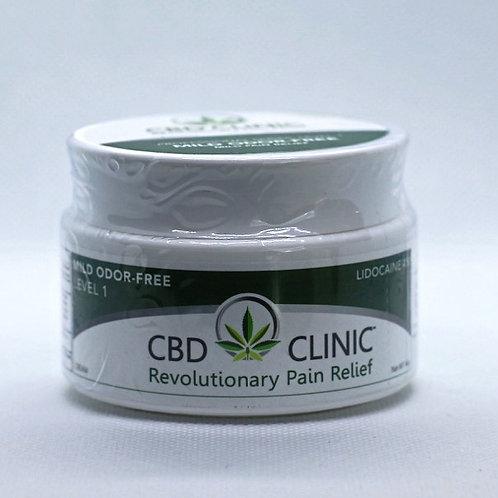 CBD Clinic Level 1 Pain Relief Cream